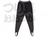 下野オリジナル クールマックスライクラタイツ - SMT-333 #ブラック サイズL