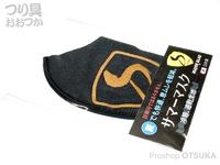 下野オリジナル MJB - サマーマスク # ブラック Lサイズ 日本製