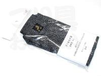 金鯱 ウキ箱用布袋 - 浮子箱NO.540K.540 #ブラック&ホワイトドット 綿100%