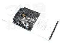 金鯱 ウキ箱用布袋 - 浮子箱NO.180NO.711 #ブラック&ホワイトドット 綿100%