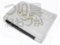 エバーグリーン E.G インナーボックス -  #クリアー Lサイズ 250×180×137mm