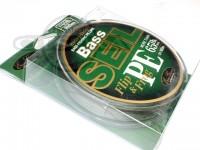 エバーグリーン バスザイル - PE #カモフラージュライトグリーン 65lb 100m