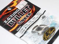 エバーグリーン シンカー - EG タングステンバレット #シルバー 3/8oz 10.5g