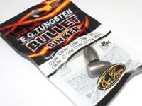エバーグリーン シンカー - EG タングステンバレット #シルバー 3/4oz 21.0g