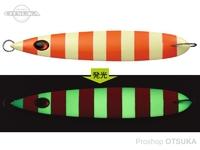 エバーグリーン カプリスエッジ - 130g #CP08G オレンジゼブラグロー 130g