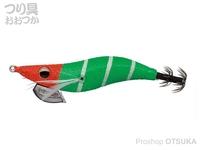 エバーグリーン エギ番長 - 2.5号 #0221 GR オレンジ・ゼブラ・緑 2.5号 11.0g