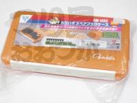 がまかつ カワハギスペアフックケース - GM-1433 #オレンジ 232×122×32mm