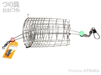 マルシン漁具 中津カゴ - ワイヤー入  小小