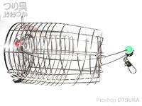 マルシン漁具 中津カゴ - ワイヤー入  中