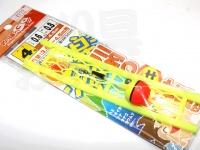 マルシン漁具 らくらく川釣りセット -   4号 ハリス0.6号 幹糸0.8号