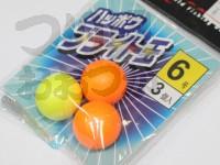 マルシン漁具 ハッポウ ブライト玉 -   6号