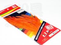 マルシン漁具 F.T.R -  #オレンジ 高級天然羽根