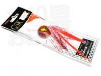 マルシン漁具 GSKスライド - 105g #レッドラメ 105g