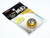 マルシン漁具 GSKスライド - 交換用鯛鉛 #ゴールド 90g