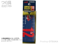 マルシン漁具 コンパクトメジャー -  #ブルー S 120cm