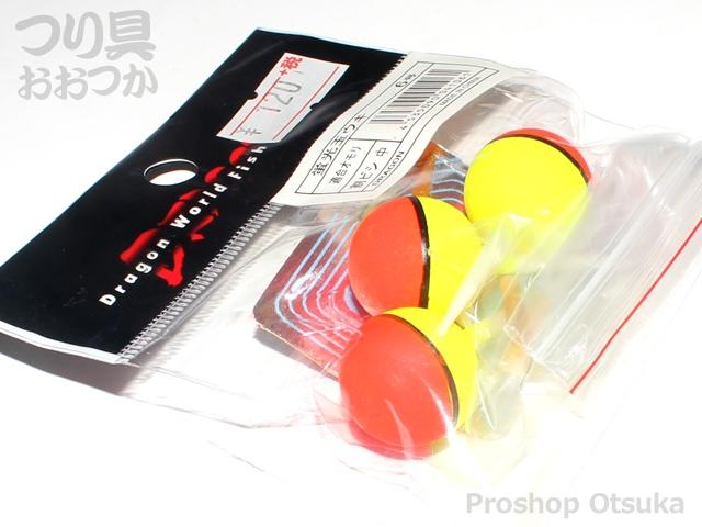 マルシン漁具 蛍光玉ウキ - 6号 浮力:割ビシ中