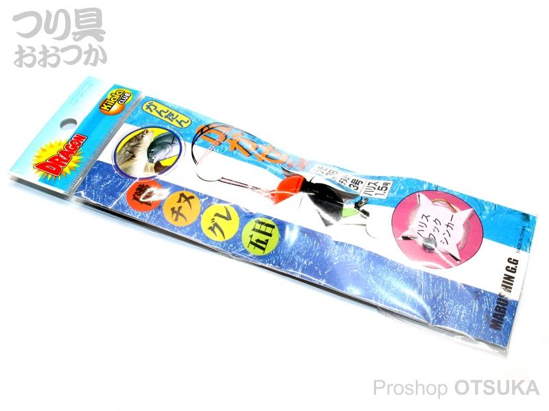 マルシン漁具 ふかせ釣りセット 水中ウキ付 3B