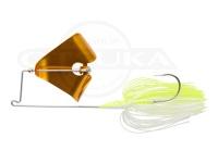 アイマ US バズ -  3/8oz ライトターン #UR-003 ホワイトチャートGB 3/8oz