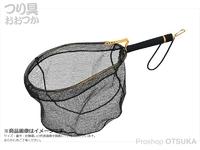ベルモント PVCランディングネット グリップ付 - MR-265 #ゴールド 網枠:350×450mm