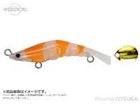 ジップベイツ ZBLゾエア - 49Sブレード #236 ビアンコグロー/オレンジG 49mm 4.2g シンキング