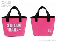 キャップス ストリーム トレイル - トートバッグ ブローミニ #ピンク