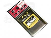 高商 へら専用オモリ(和紙付) - 0.17mm - -