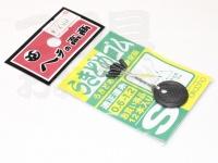 高商 ウキ止めゴム - S  適正道糸0.6~1.2号