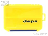 デプス タックルボックス - 3010NDDM #イエロー/ネイビー デプスロゴ 205mm×145mm×60mm