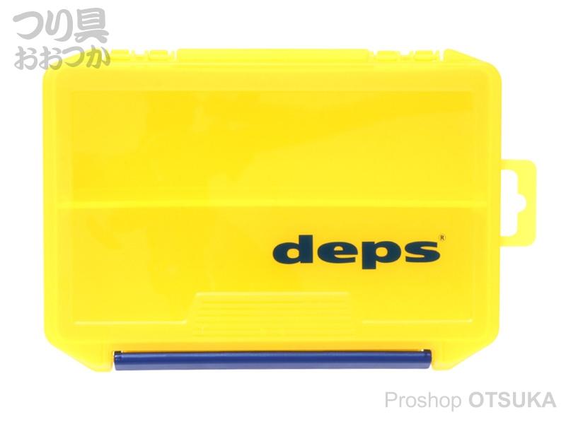 デプス タックルボックス 3010NDDM 205mm×145mm×60mm #イエロー/ネイビー デプスロゴ