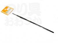 ファイブコア ナイロン筆 - 平筆  サイズ:00(毛幅3mm)