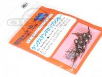 スタジオワンハンドレッド タングステンシンカー - ドロップショット #シルバー 3/64oz 1.3g Feco認定商品