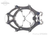 モンベル チェーンスパイク - - #ライトグレー L 25.5~28.5cm