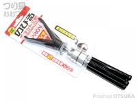 プロックス のびるチョット三脚5段/V字竿受 - PX8662 耐荷重0.8kg サイズ:収納時195mm 使用時125~300mm