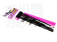 プロックス 結束フックキーパー - PX9941 #ブラック/パープル 滑り止めゴム付き全長150mm×幅4mm