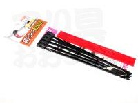 プロックス 結束フックキーパー - PX9941 #ブラック/レッド 滑り止めゴム付き全長150mm×幅4mm