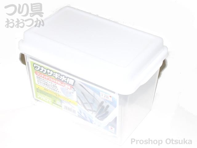 プロックス ワカサギ水槽 PX835 サイズ・23.8×15×16.4cm クリア
