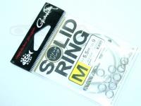 がまかつ リング関係 - ソリッドリング 破談強度100kg以上 サイズ M(内径5.5mm)