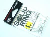 がまかつ リング関係 - ソリッドリング 破談強度100kg以上 サイズ L(内径6.5mm)