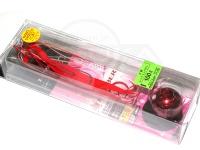 がまかつ 桜幻 - 鯛ラバーQ 100g レッドインパクト 100g