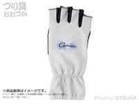 がまかつ 鮎用グローブ (手甲) - GM-7250 # シルバー Lサイズ