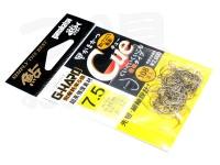 がまかつ Gハード キュー - バラ # 茶熊 7.5号 0.41mm ザ パック