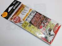 がまかつ 競技カワハギ -  速攻 ナノ・スムース・コート 4.5号 ハリス3.0号 幹4.0号