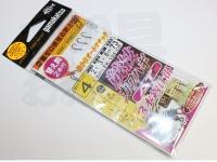がまかつ 競技カワハギ -  オートマチック ナノ・スムース・コート 4.0号 ハリス2.0号 幹3.0号