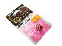 がまかつ 桜幻 鯛ラバーQ - TGシンカー #3 バレンシアオレンジ 60g
