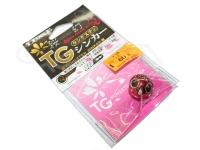 がまかつ 桜幻 鯛ラバーQ - TGシンカー #18 ブルースポットマダイ 60g