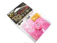 がまかつ 桜幻 鯛ラバーQ - TGシンカー #13 ピンキーアマダイ 80g