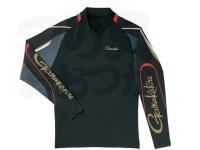 がまかつ ストレッチロングスリーブシャツ - GM-3542 #ブラック サイズL