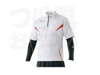 がまかつ アクティブクールスーツ - GM-3567 #ホワイト サイズ L