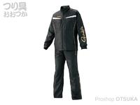 がまかつ ウィンドブレーカースーツ - GM-3574 #ブラック Lサイズ