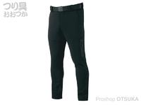 がまかつ EWフィッシングパンツ - GM-3591 #ブラック サイズ L